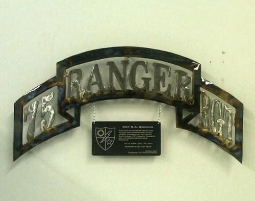 75th Ranger Scroll