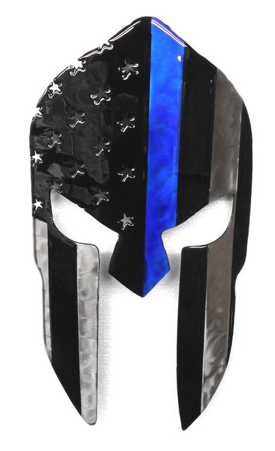 Blue Line Spartan