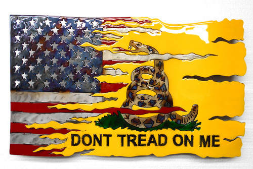 DON'T TREAD ON ME TRANSFORMATION