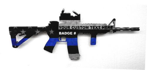 Blue Line AR Custom