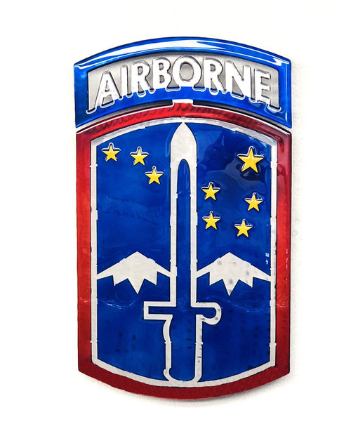 172nd  With Airborne Tab