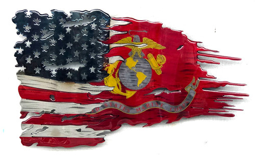 Marine Transformation Battle Worn