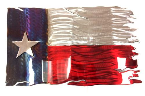 Texas Tattered Flag