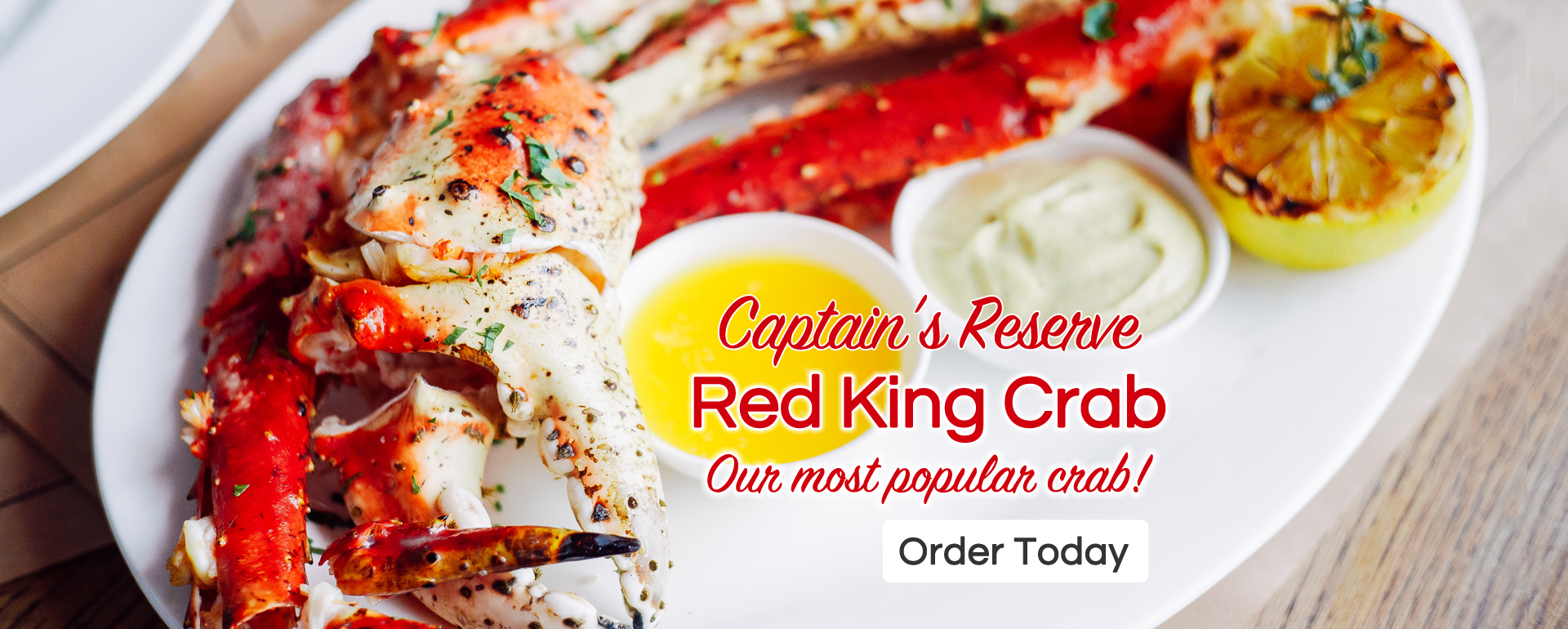 Captains Reserve Red King Crab