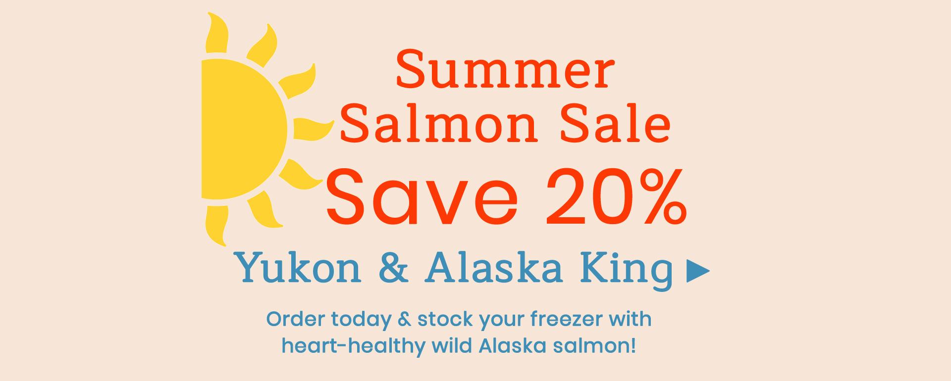 Summer Salmon Sale!