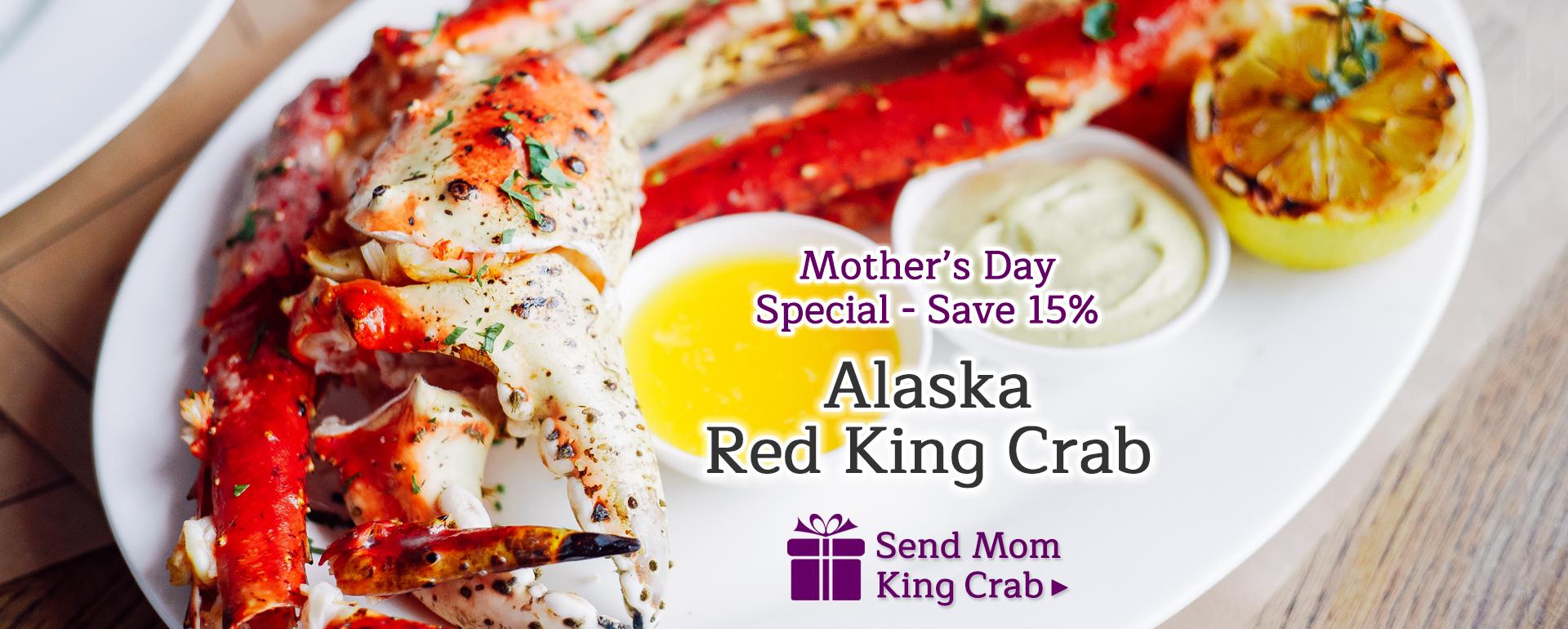 Alaska Red King Crab