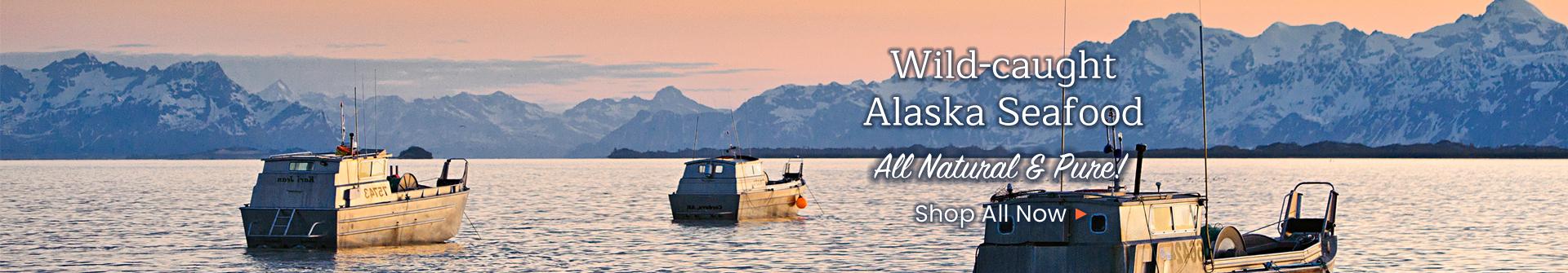 Wild-caught Alaska Seafood