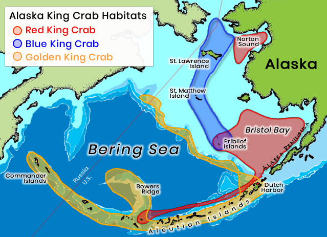 King crab habitat areas