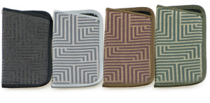 strong horizontal and verticle lines olive, brown, black, grey