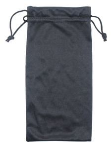4X8 BLACK DRAWSTRING BAG