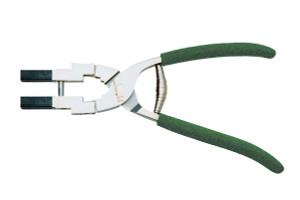 Double Delrin Jaw Plier – Parallel Jaws Model #5115F, Green Foam Handle