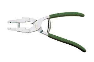 Finger Piece Plier – Parallel Jaws Model #5145F, Green Foam Handle