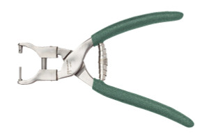 Sizing and Screw Inserting Plier – Parallel Jaws Model #5106, Green Foam Handle