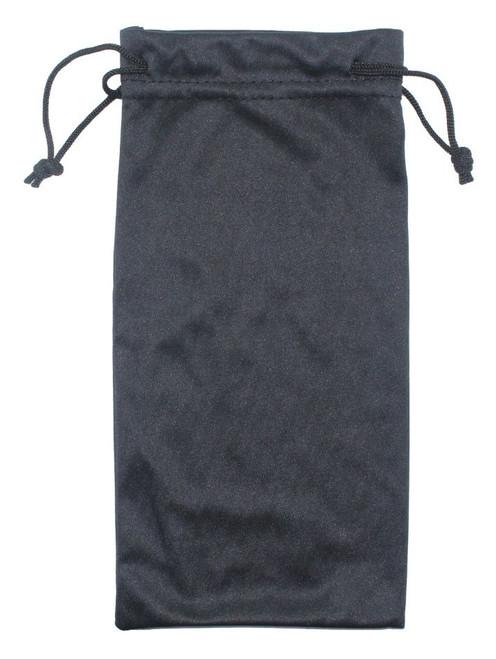 4X8 BLACK DRAWSTRING BAG