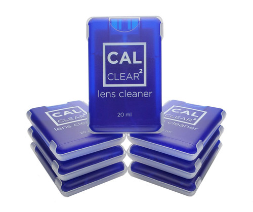 Blue 20 ml Square Lens Cleaner (20MLSQSPRCCLR000-BLU)