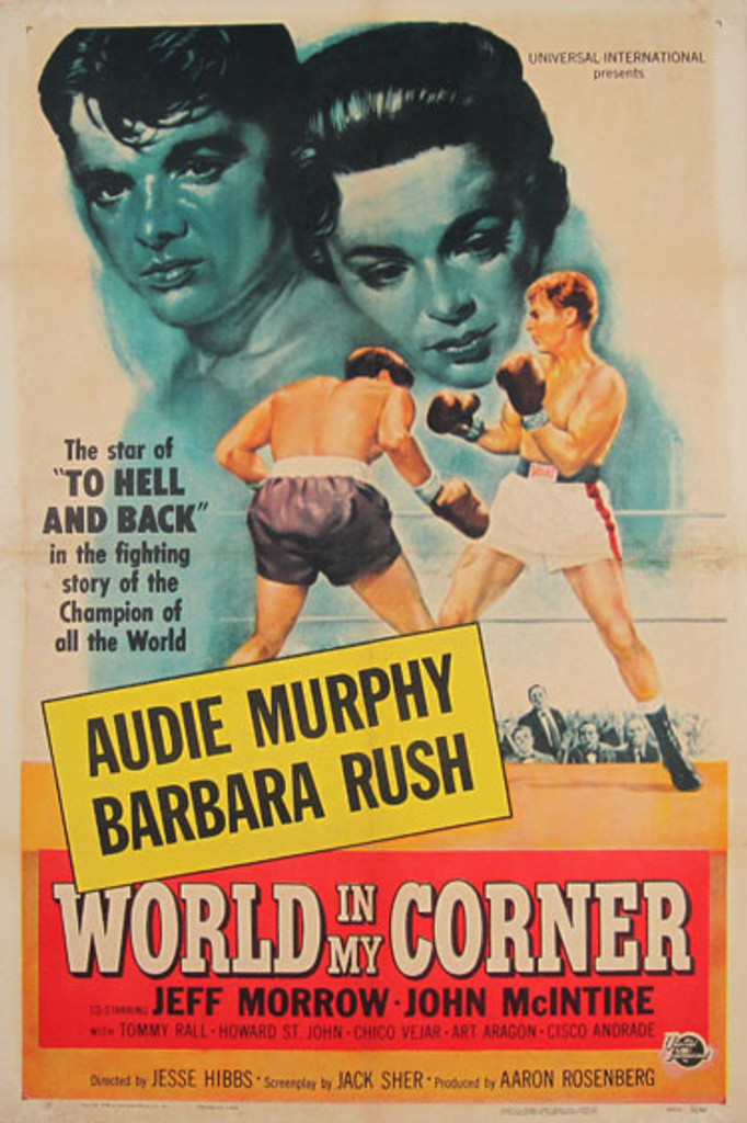 World In My Corner original vintage movie poster from 1956 USA