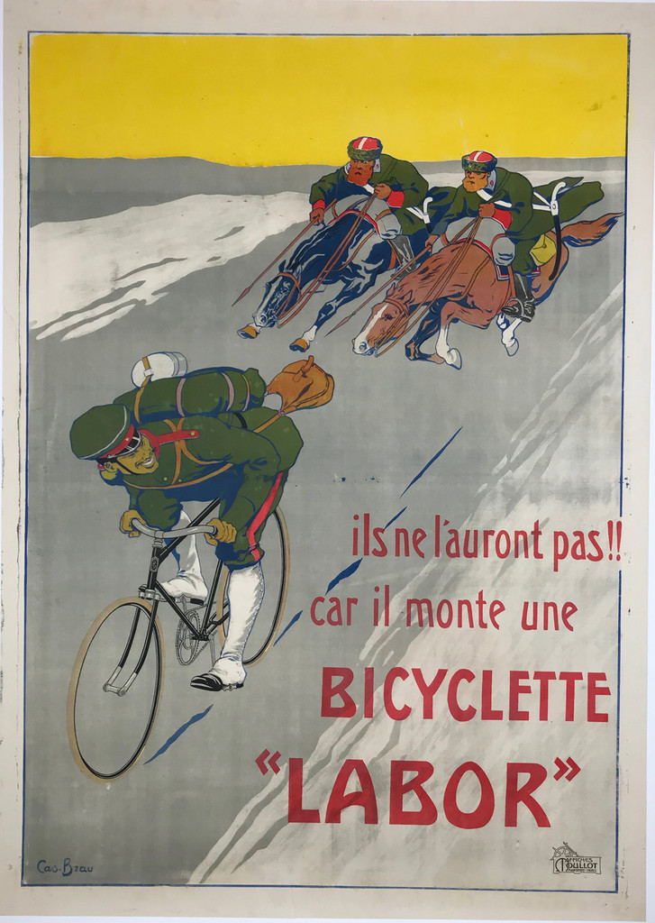 Bicyclette Labor Bzau Poster