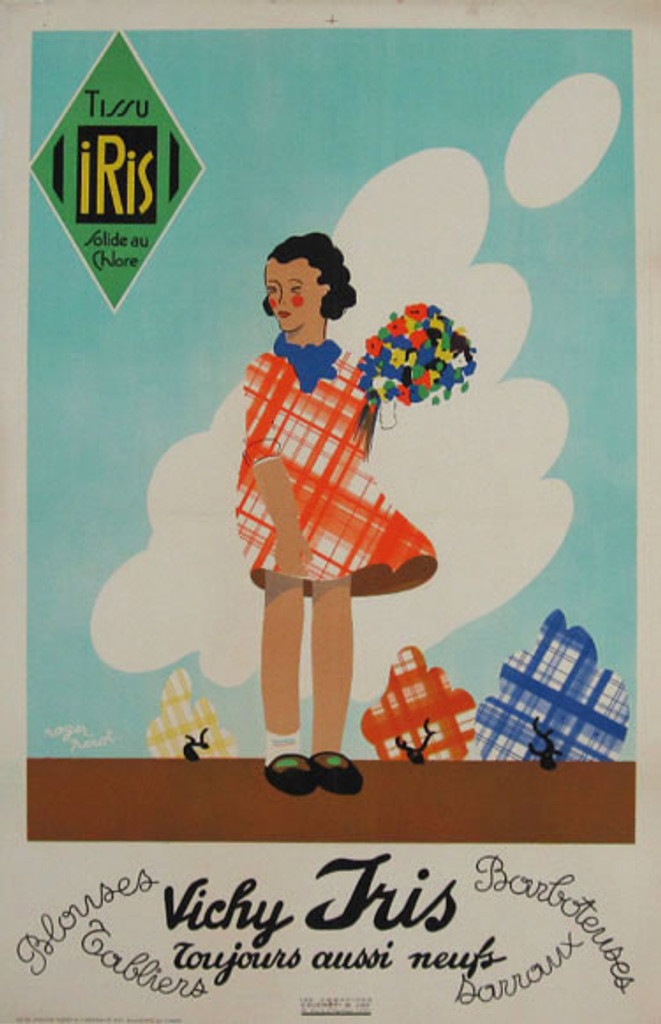 Tissueco by Perot original vintage poster from 1926.