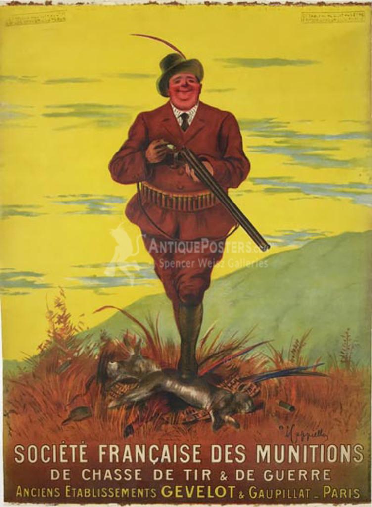 Societe Francaise Des Munitions Poster