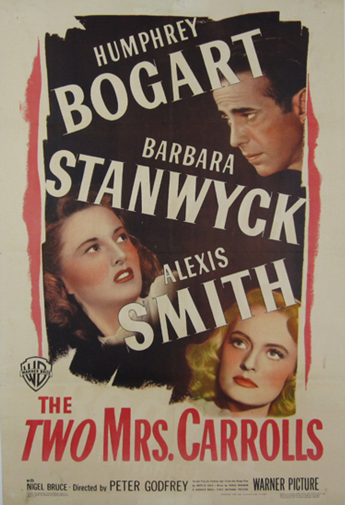 The Two Mrs. Carrolls original movie poster from 1946 USA