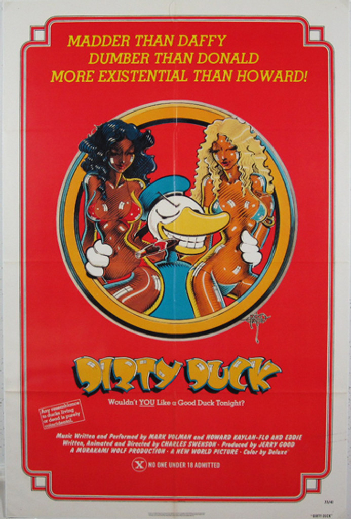 Dirty Duck original movie poster from 1977 USA