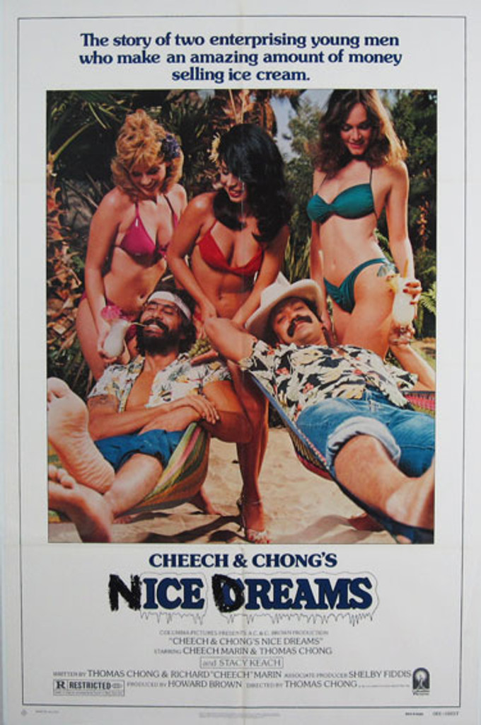 Cheech & Chong's Nice Dreams original movie poster from 1981 USA