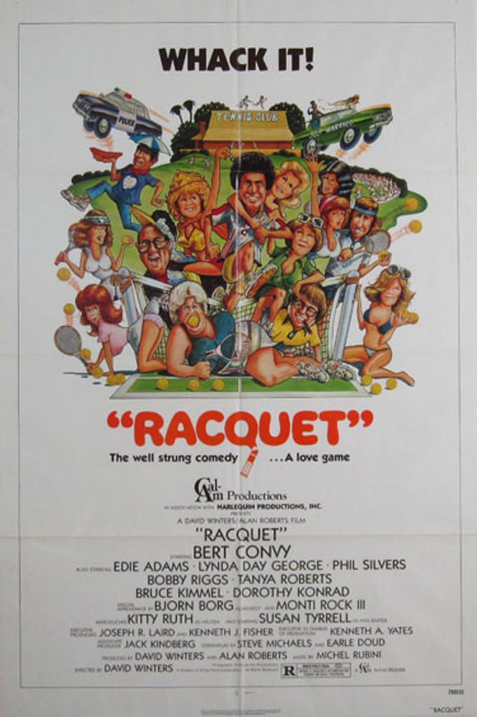 Racquet original movie poster from 1979 USA