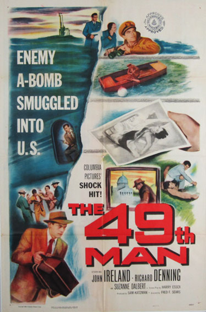 The 49th Man original movie poster from 1944 USA
