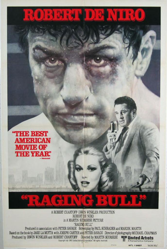 Raging Bull original movie poster from 1980 USA