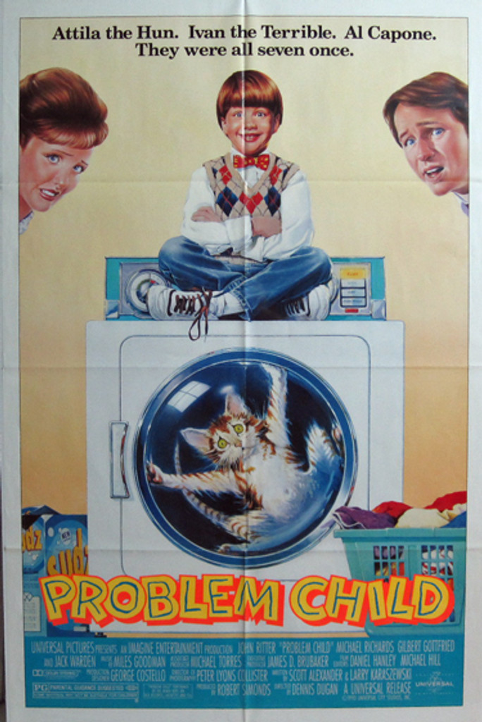 Problem Child original movie poster from 1990 USA