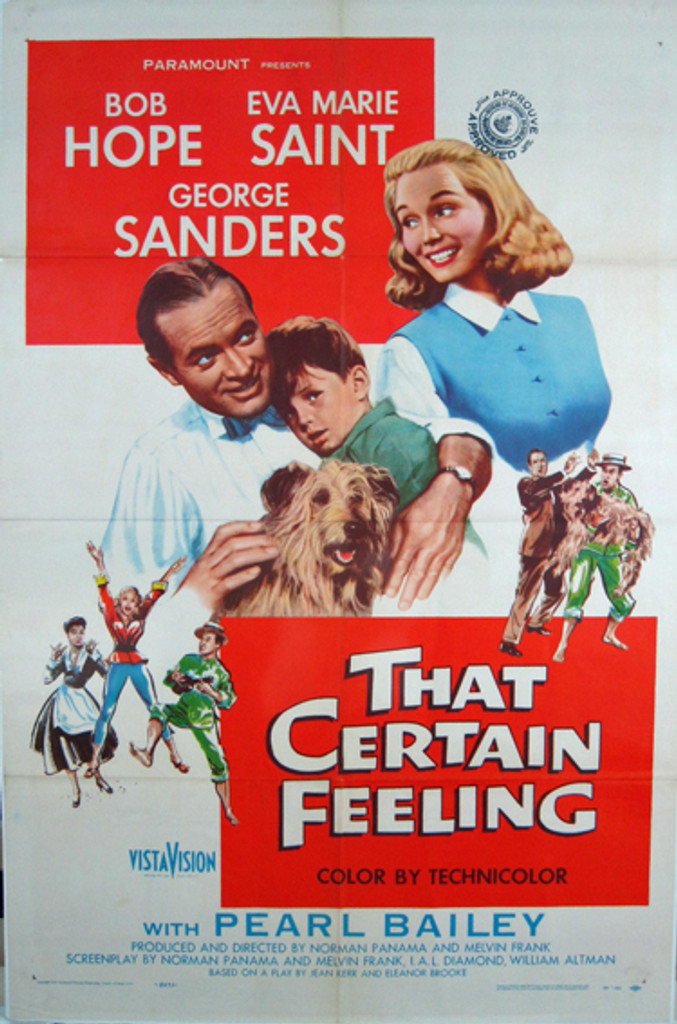 That Certain Feeling original movie poster from 1956 USA