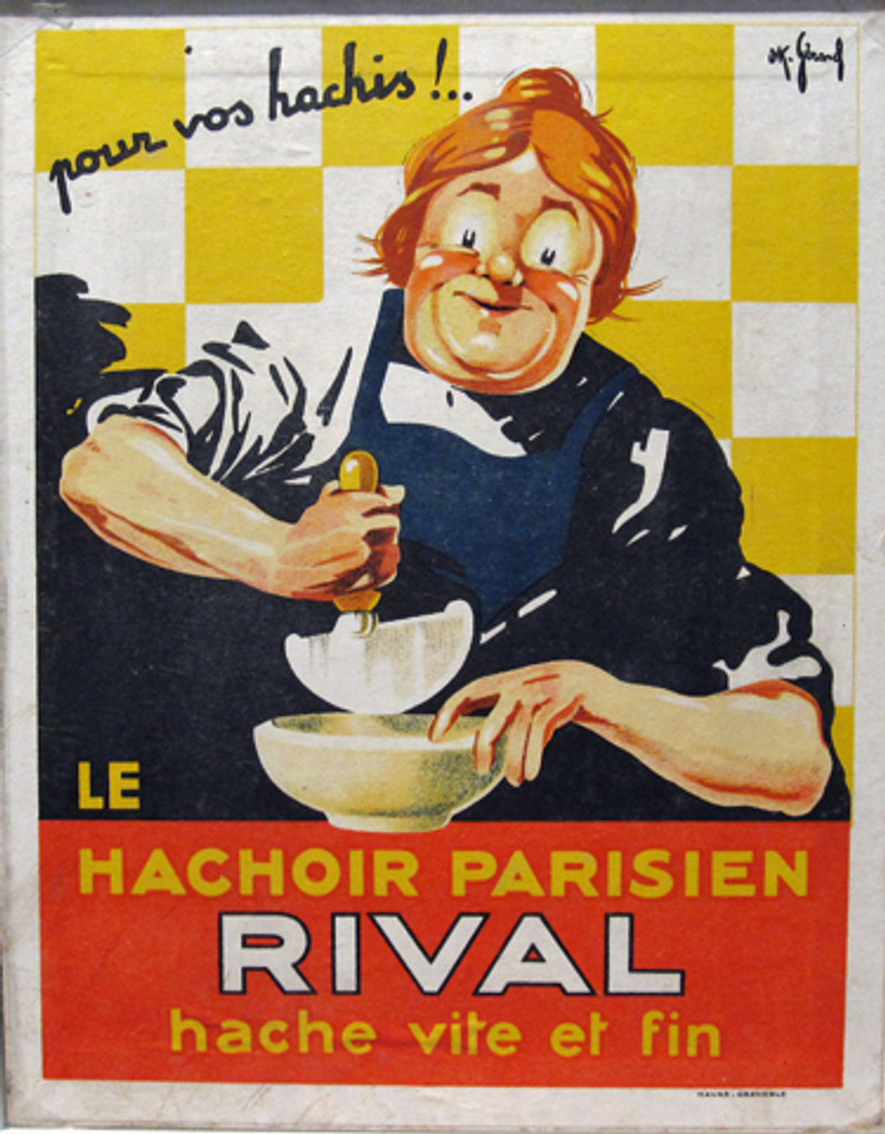 Rival original vintage poster by OK. Gerard from 1930 France