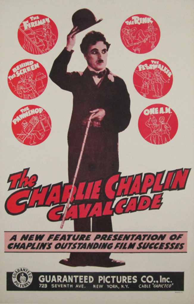 The Charlie Chaplin Cavalcade Original Poster from 1958