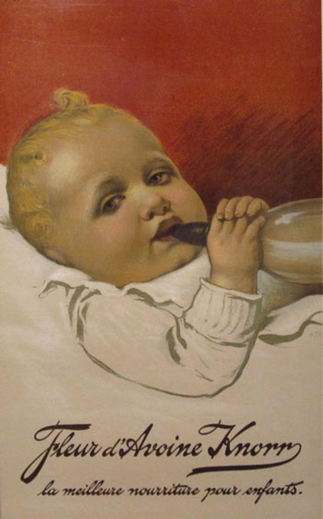 Fleur d Avoine Knorr original vintage poster from 1903 France