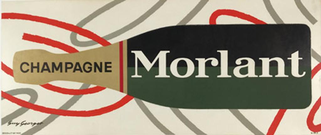 Original Vintage Morlant Champagne Poster