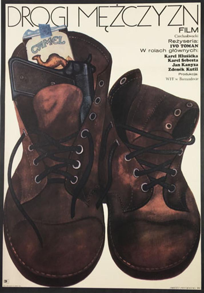 The Roads of Man by Krajewski from 1973 Poland