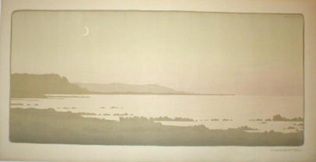 La Pointe De Bretteville by P. Berthon original vintage poster from 1899 France