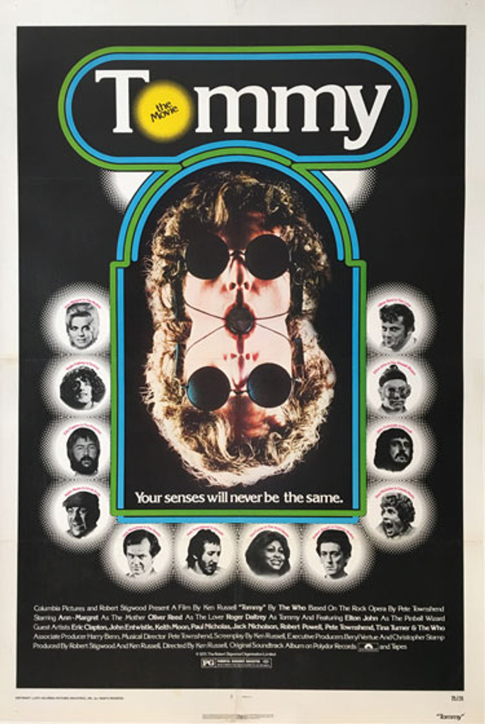 Tommy The Movie Your senses will never be the same American original movie from 1975.
