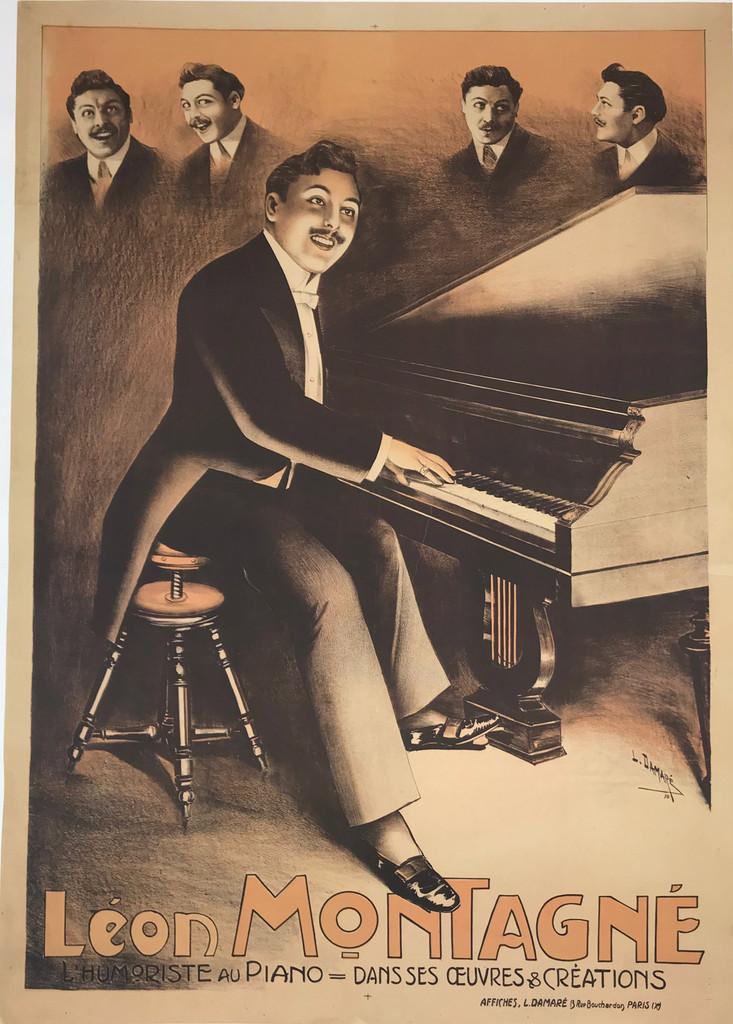 Leon Montagne Piano Humorist