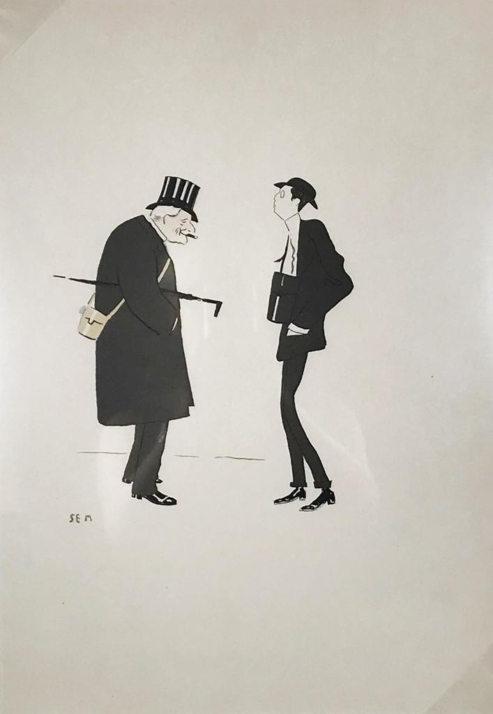 Pouchoir Caricature Sem