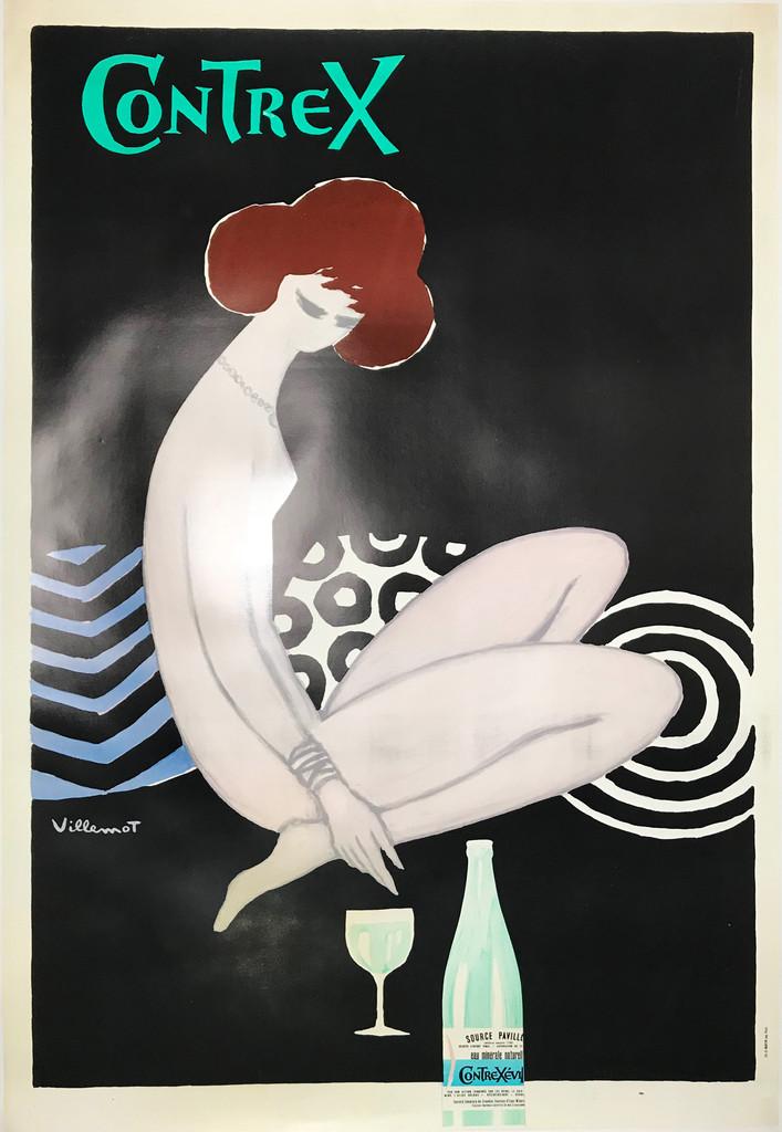 Contrex Original 1977 French Poster by Bernard Villemot