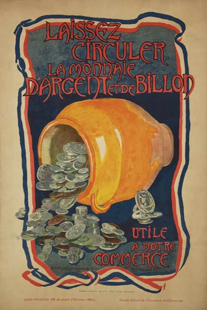 Laissez Circuler La Monnaie D'Argent Et De Billon