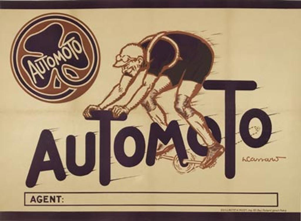 Automoto Cycles Company Poster