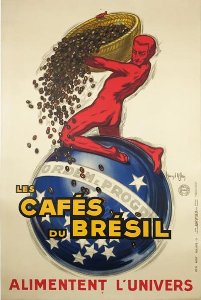 Les Cafes Du Bresil Poster