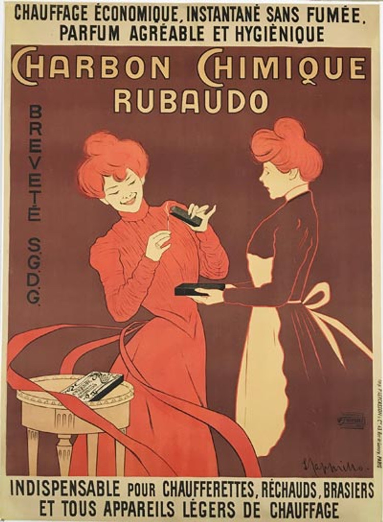Charbon Chimique Rubaudo poster