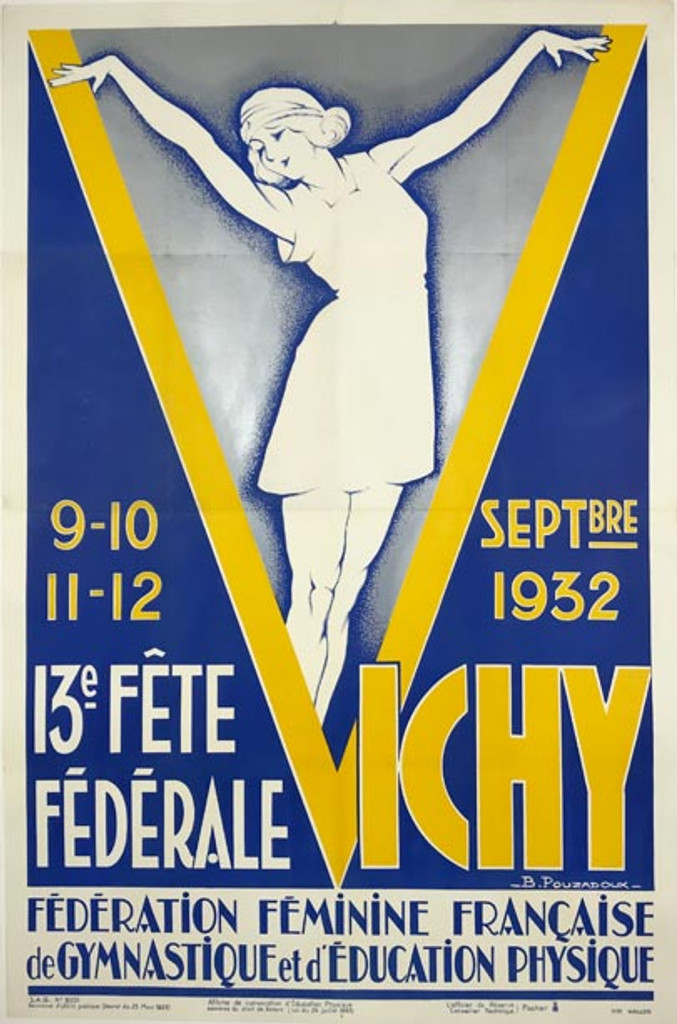 Vichy 13e Fete Federale Francaise Gymnastique