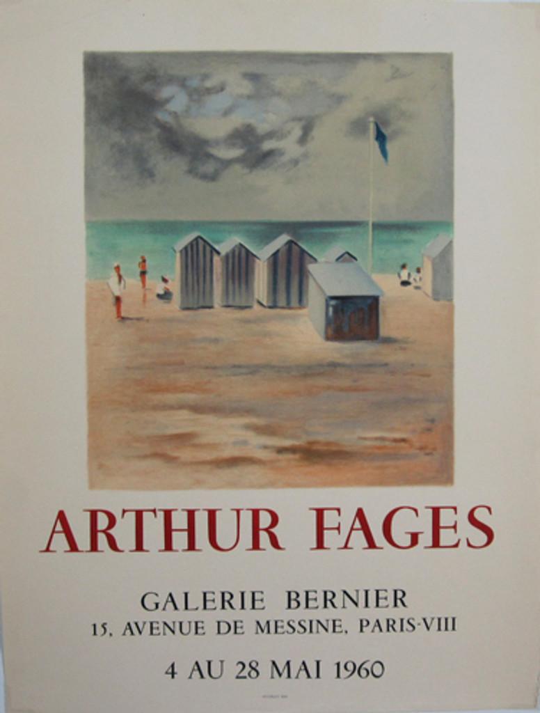 Arthur Fages Exposition Galerie Bernier