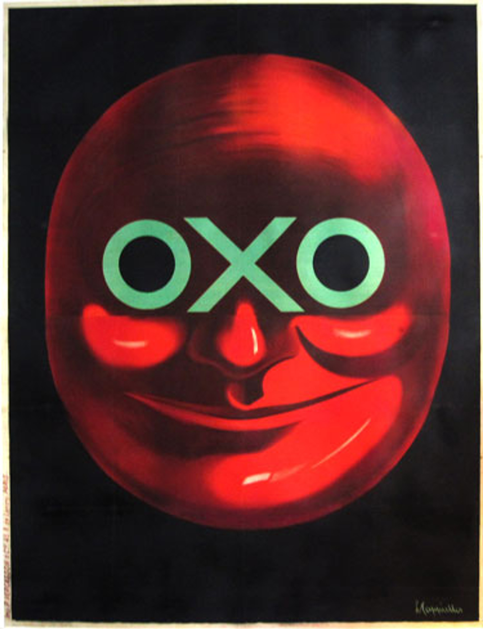 Oxo Vintage Leonetto Cappiello Advertising Poster Canvas Giclee Print 24x30 in.