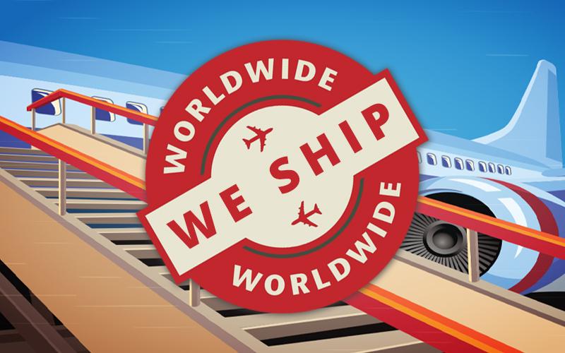 We Ship Worldwide - AntiquePosters.com