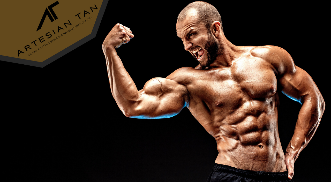 Why Do Bodybuilders Use Spray Tan?